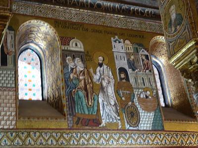 Capella Palatina -- St. Paul preaching