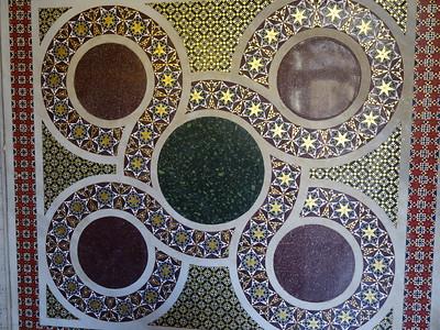 Capella Palatina - floor tiles