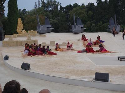 Chorus ... at center