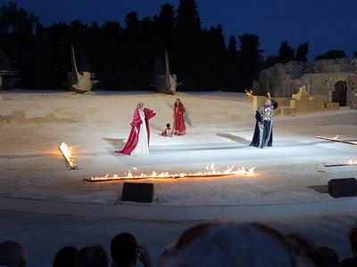 Clytemnestra upbraids Agamemnon