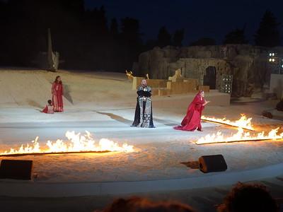 Clytemnestra excoriates Agamemnon