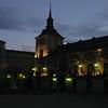 Palace at nightfall