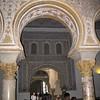 Alcazar, moon-shaped arch