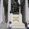 In Madrid - in front of the Prado