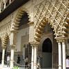 Alcazar, fanciful archways