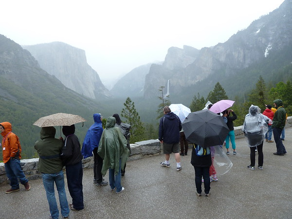 Yosemite 2011: Tunnel View, Group Shots, + Misc