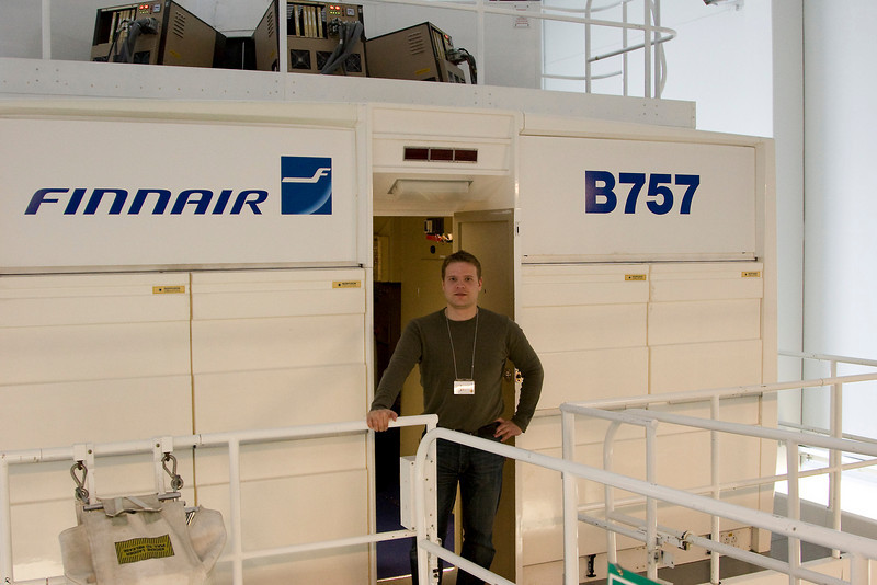 Boeing 757 Level D Simulator, Finnair Training Centre