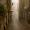 Foggy Streets in San Marino