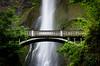 The Bridge at Multnomah Falls in Columbia River Gorge