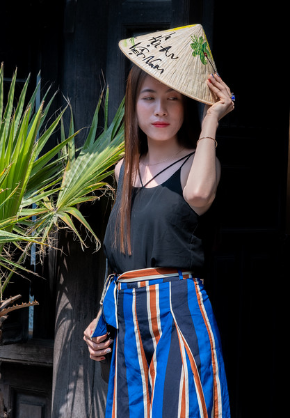 Fashionable Young Ladies in Hoi An