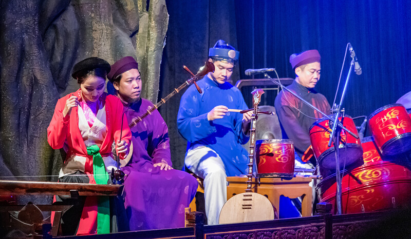 Water Puppet Theater is popular with tourists in Vietnam