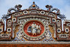 Intricate mosaics at the Imperial Citadel and Forbidden Purple City