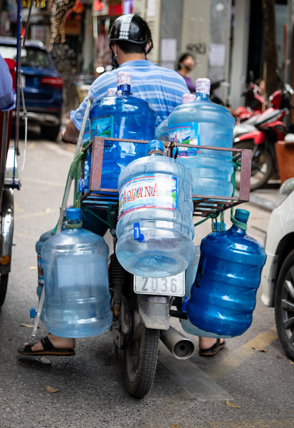 Bottled Water Delivery Man