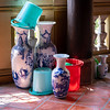Mixing Beautiful, Artistic Containers With the Plain