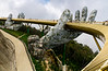 Golden Bridge at SunWorld-Ba Na Hills near Da Nang