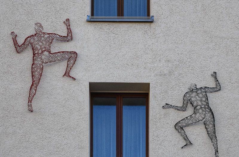 Climbing the Walls in St. Moritz