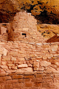 Anisazi cliff dwellings, Step House, Mesa Verde Nat. Pk. CO
