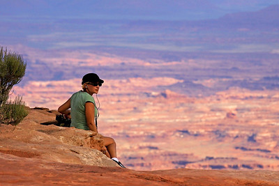 Grand View Point Overlook, Island in the Sky Dist., Canyonlands Nat. Pk., UT