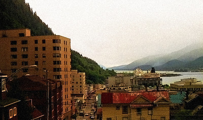 Old Downtown Juneau, Alaska