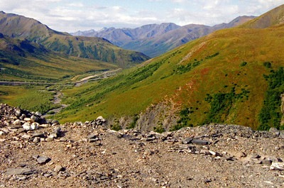 Brooks Range, Atigun Pass on the Dalton Hwy., Alaska