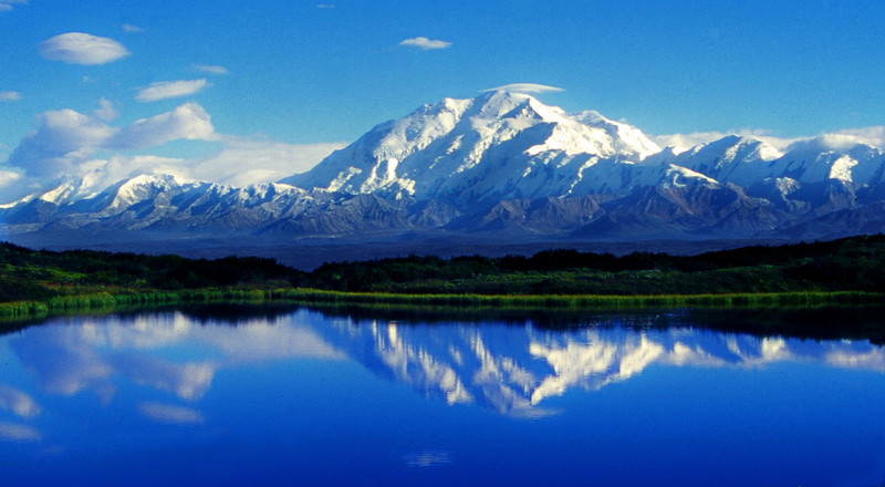 Reflections. Denali National Park, Alaska