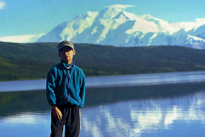 King of the hill, Denali National Park, Alaska