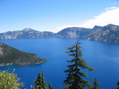 Crater Lake, August 2005