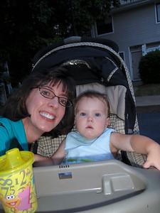 Addy and Jenny (self-portrait)!