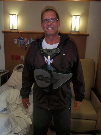 Dennis' Back Surgery - 2013