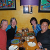 Russell, Elaine, Wendy, and Jenny enjoying dinner!