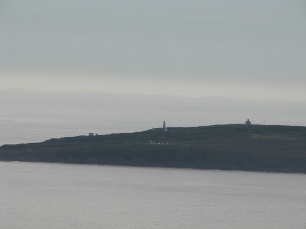 View of Cape Spear from Signal Hill