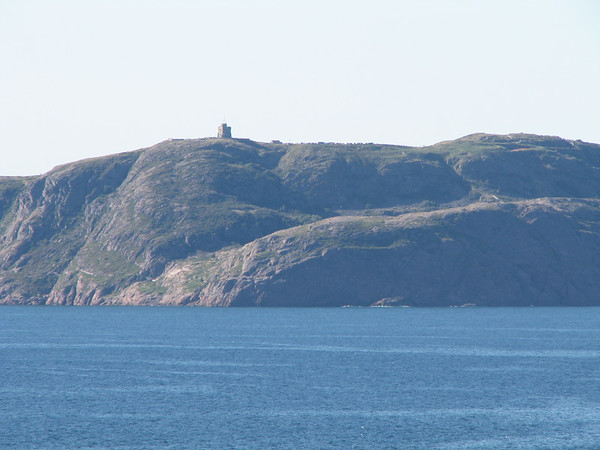 View of Signal Hill from Cape Spear