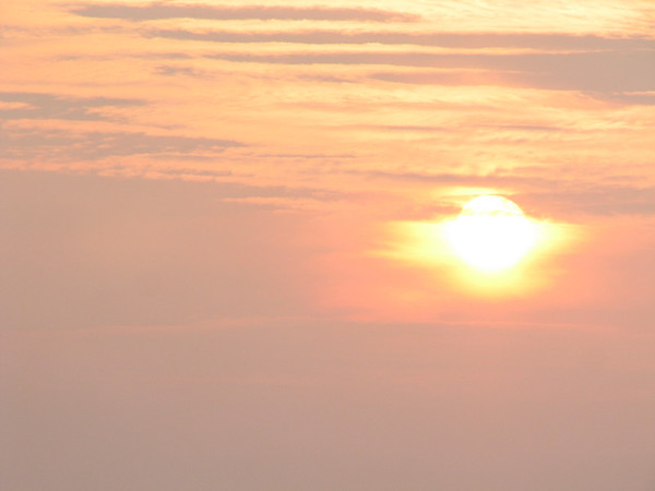 Sunset - Argentia Ferry