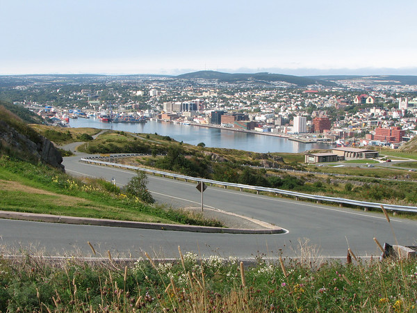 View of St-John from Signal Hill