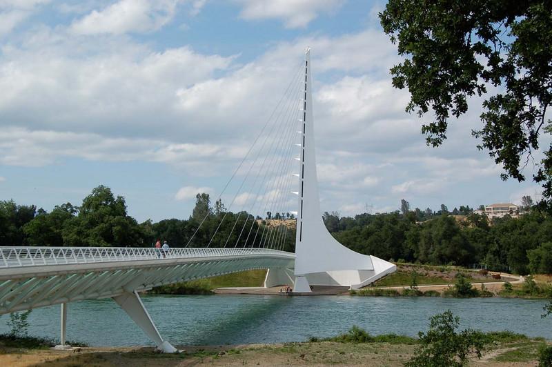 Sundial Bridge at Turtle Bay Park