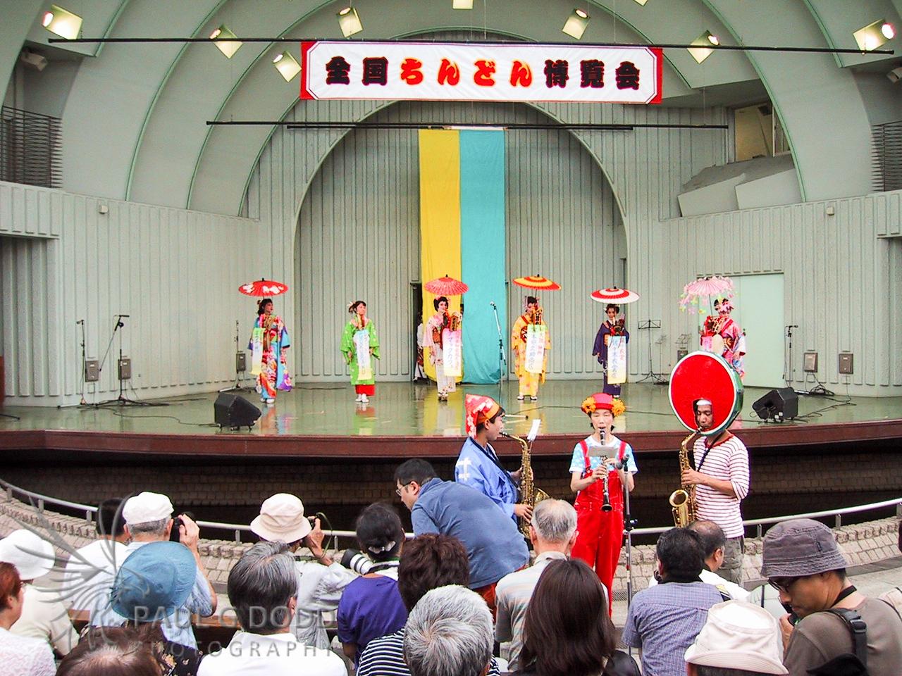 Kabuki at Hibiya outdoor theatre, Tokyo