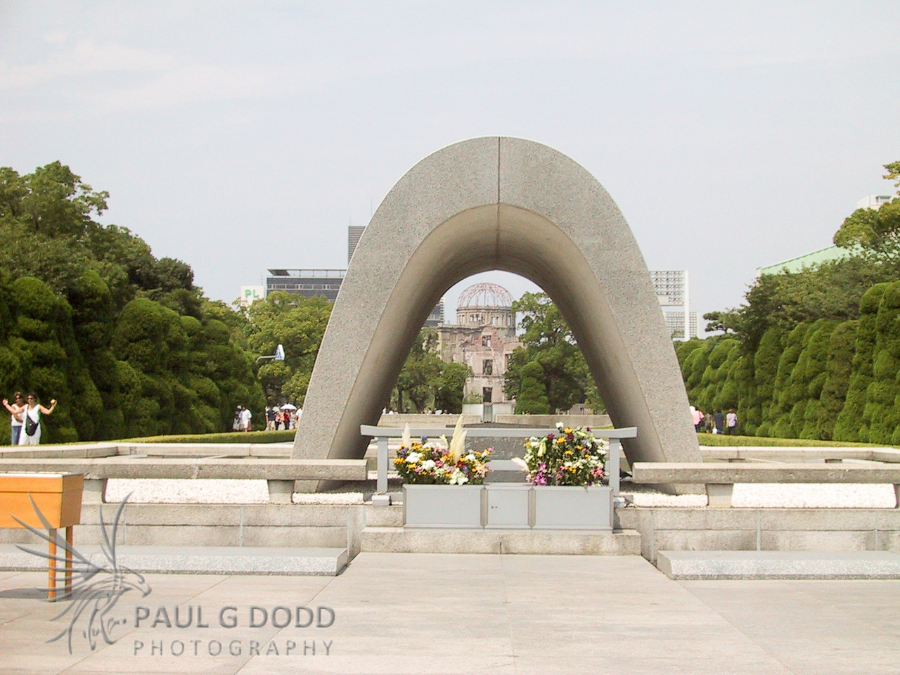 The Memorial Cenotaph, Hiroshima Peace Park