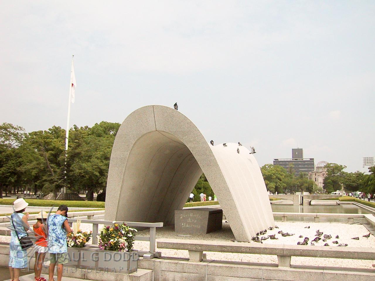 The Memorial Cenotaph, Hiroshima Peace Park