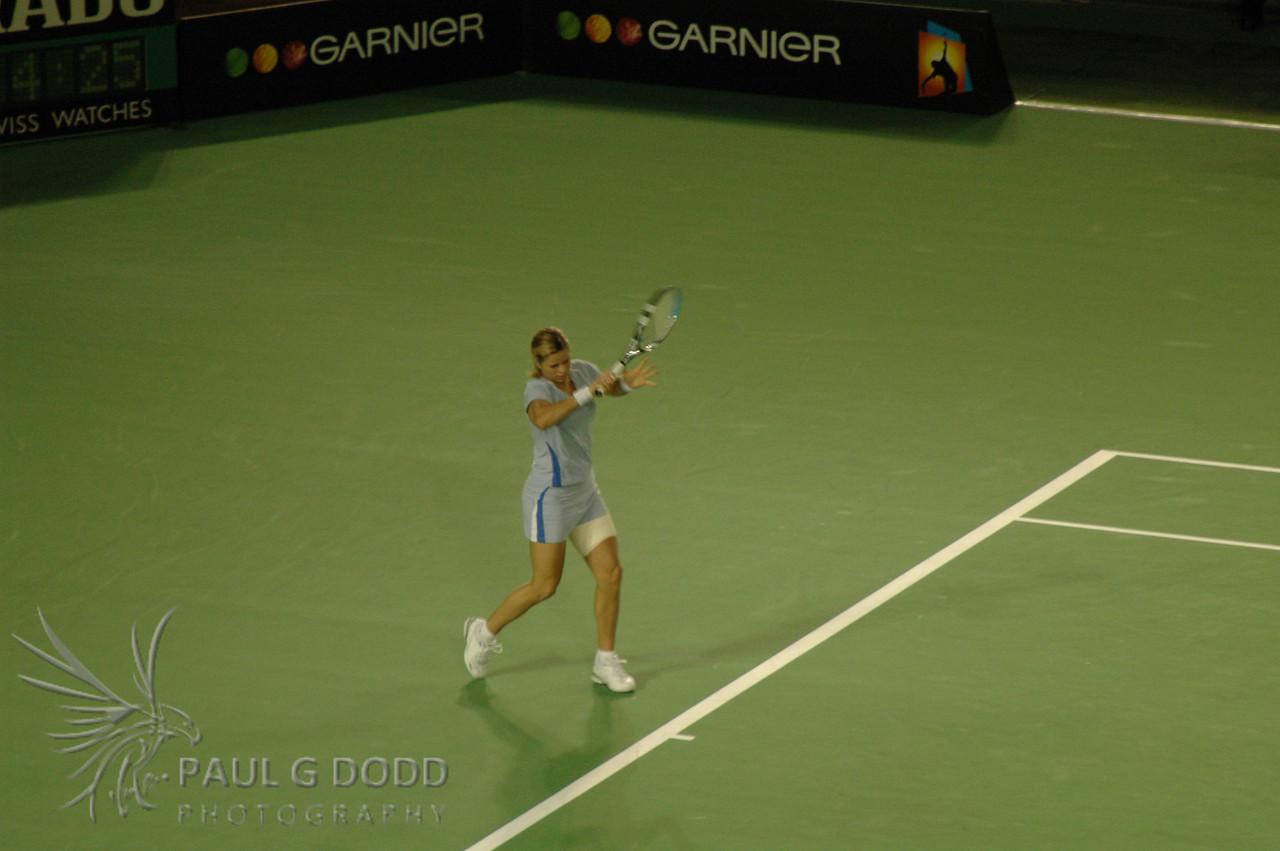 Australian Open 2006, Women's Semi-finals - Kim Clijsters