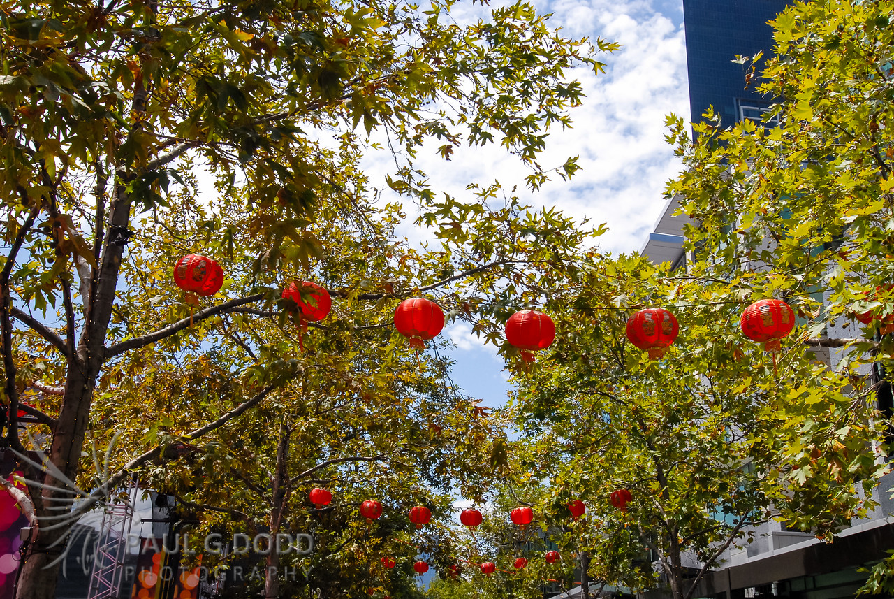 Chinese New Year, Crown Promenade, Melbourne