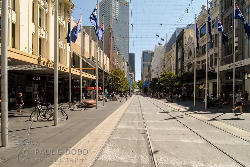 Bourke Street Mall, Melbourne