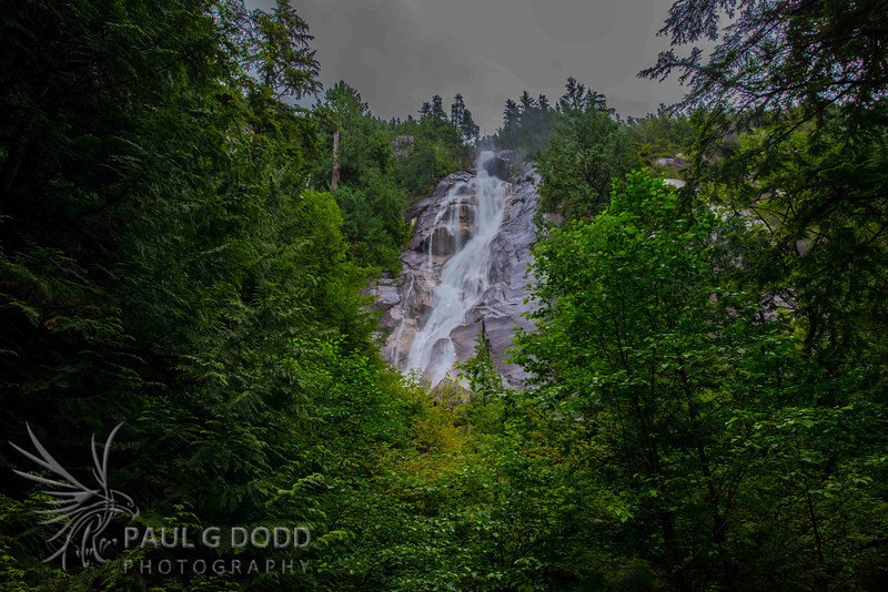 Shannon Falls, Squamish, British Columbia