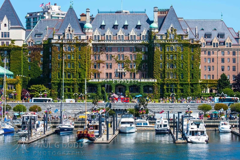 The Empress Hotel, Victoria, British Columbia