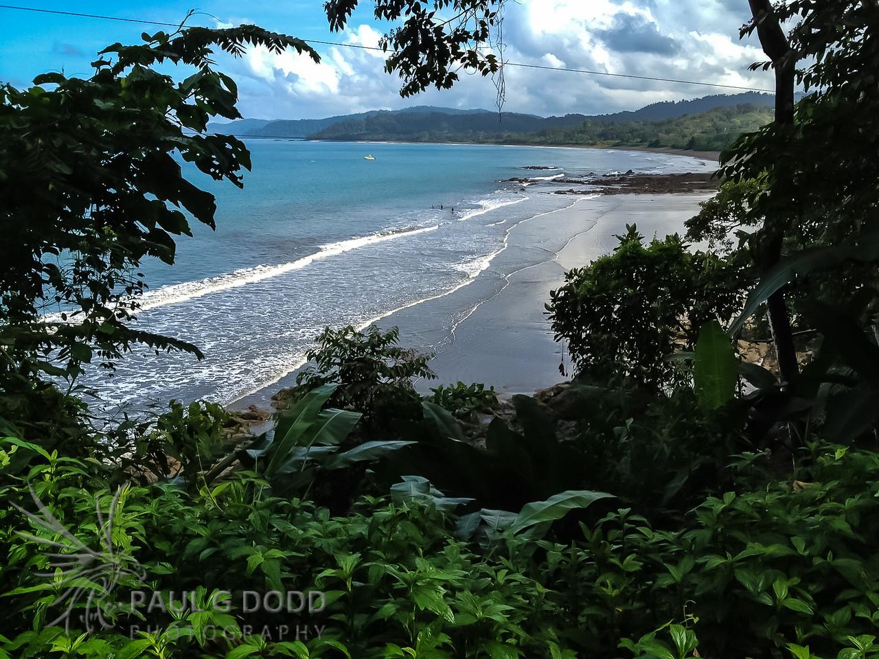 The beautiful Drake Bay