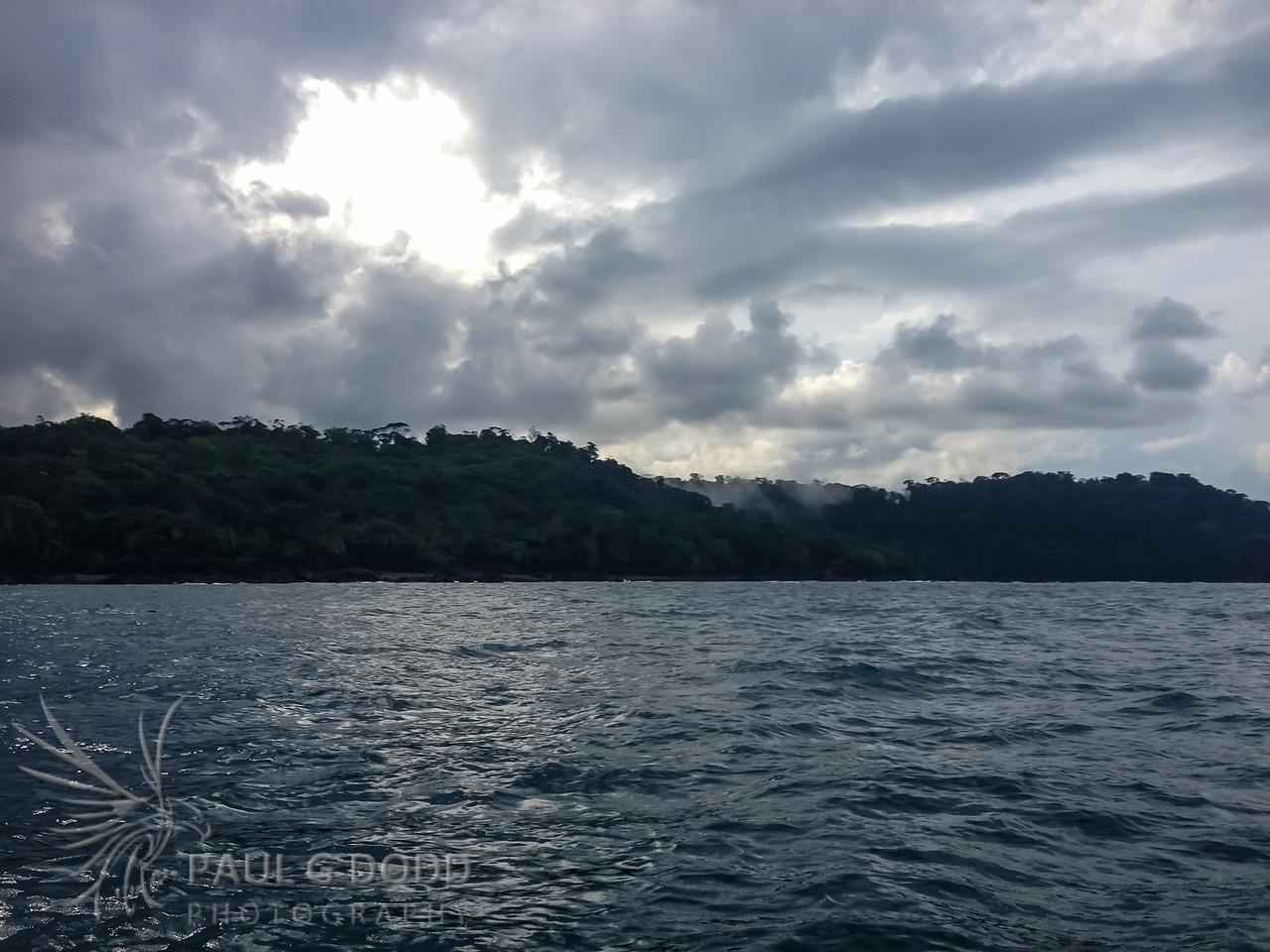 Drake Bay - where the rainforest meets the ocean