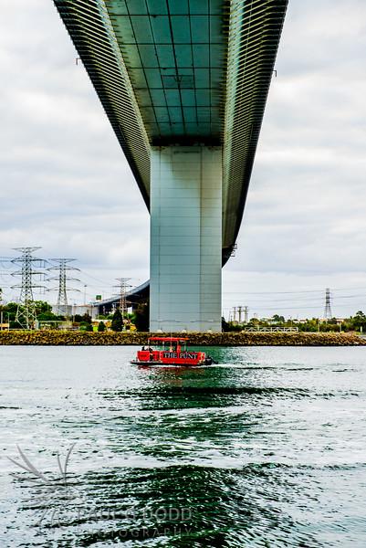 West Gate Bridge and Westgate Punt, Melbourne