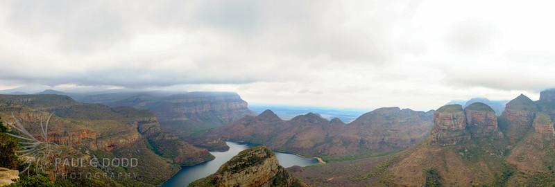 Three Rondavels, Blyde River Canyon, Mpumalanga, South Africa