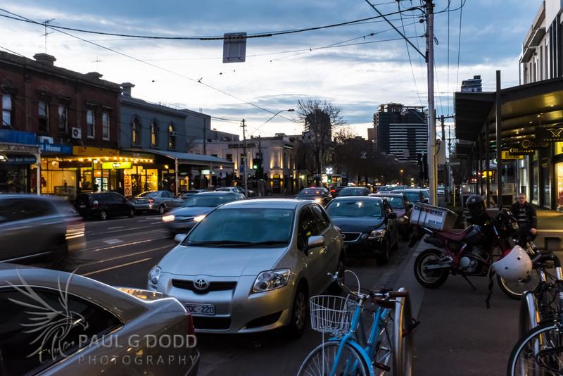 South Melbourne - evening