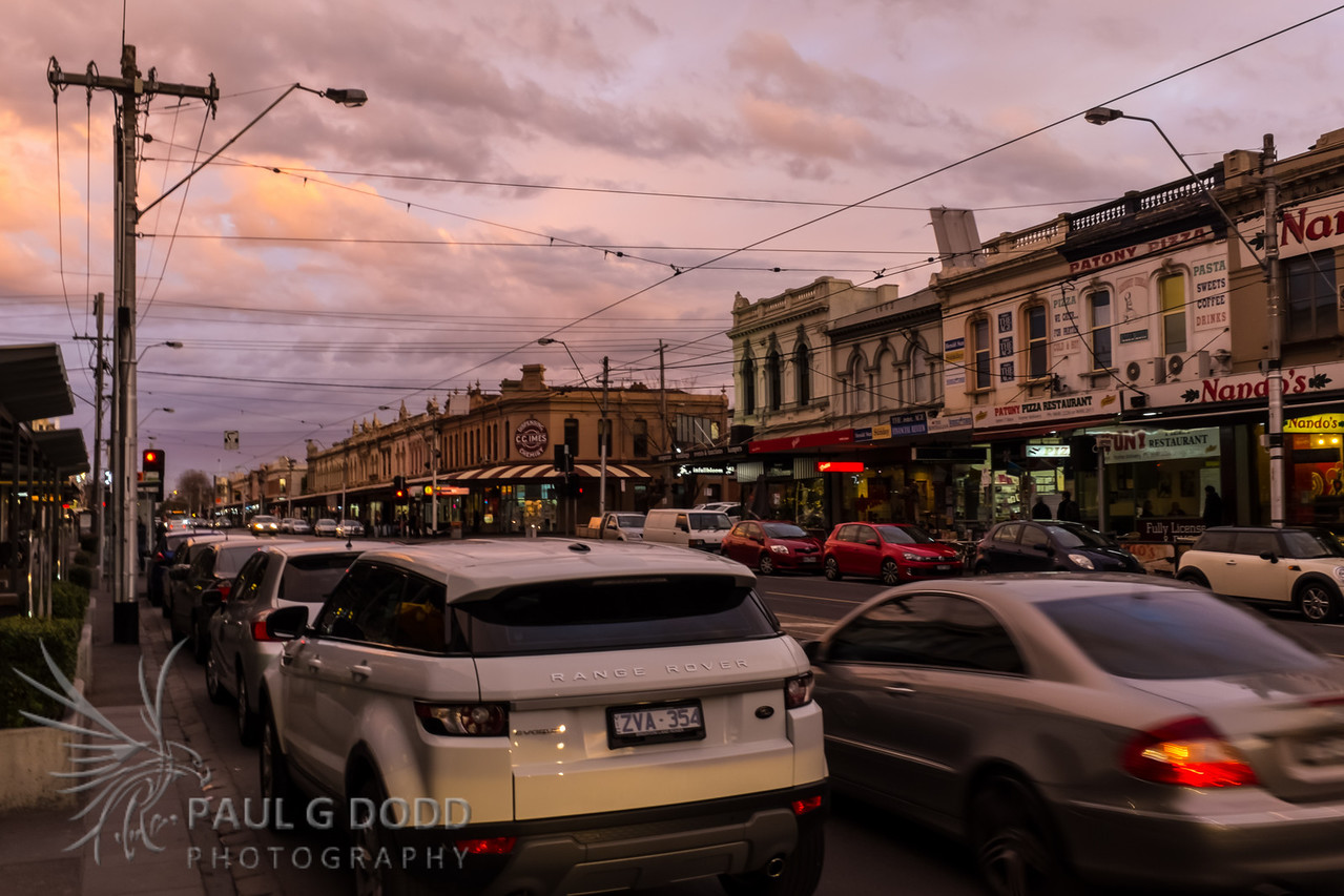 South Melbourne - evening