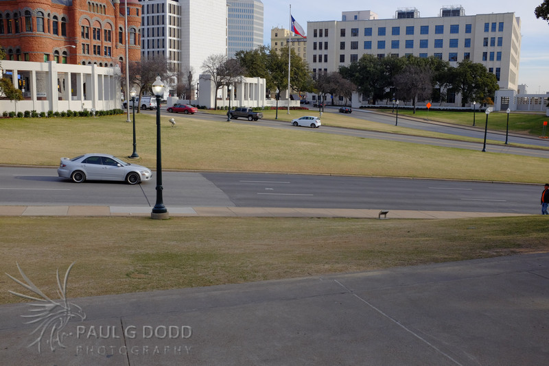 Elm St from the grassy knoll.